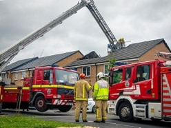 Man arrested on suspicion of arson over Shifnal house fire