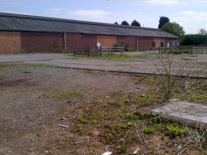 One of the old Maff buildings at the site, which is being lined up for 55 homes under new plans