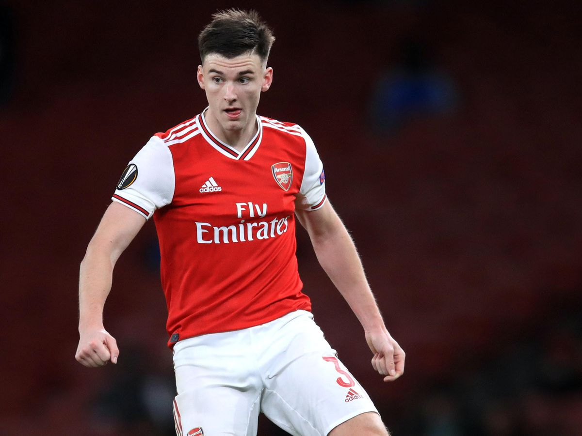 Arsenal's Kieran Tierney