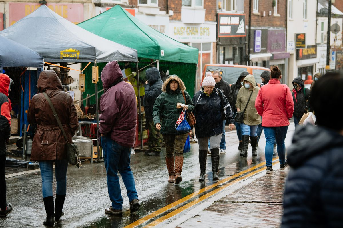 Hednesford Town Council's new monthly Farmers and Craft Market