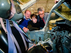 Get up close and personal with RAF Cosford jets