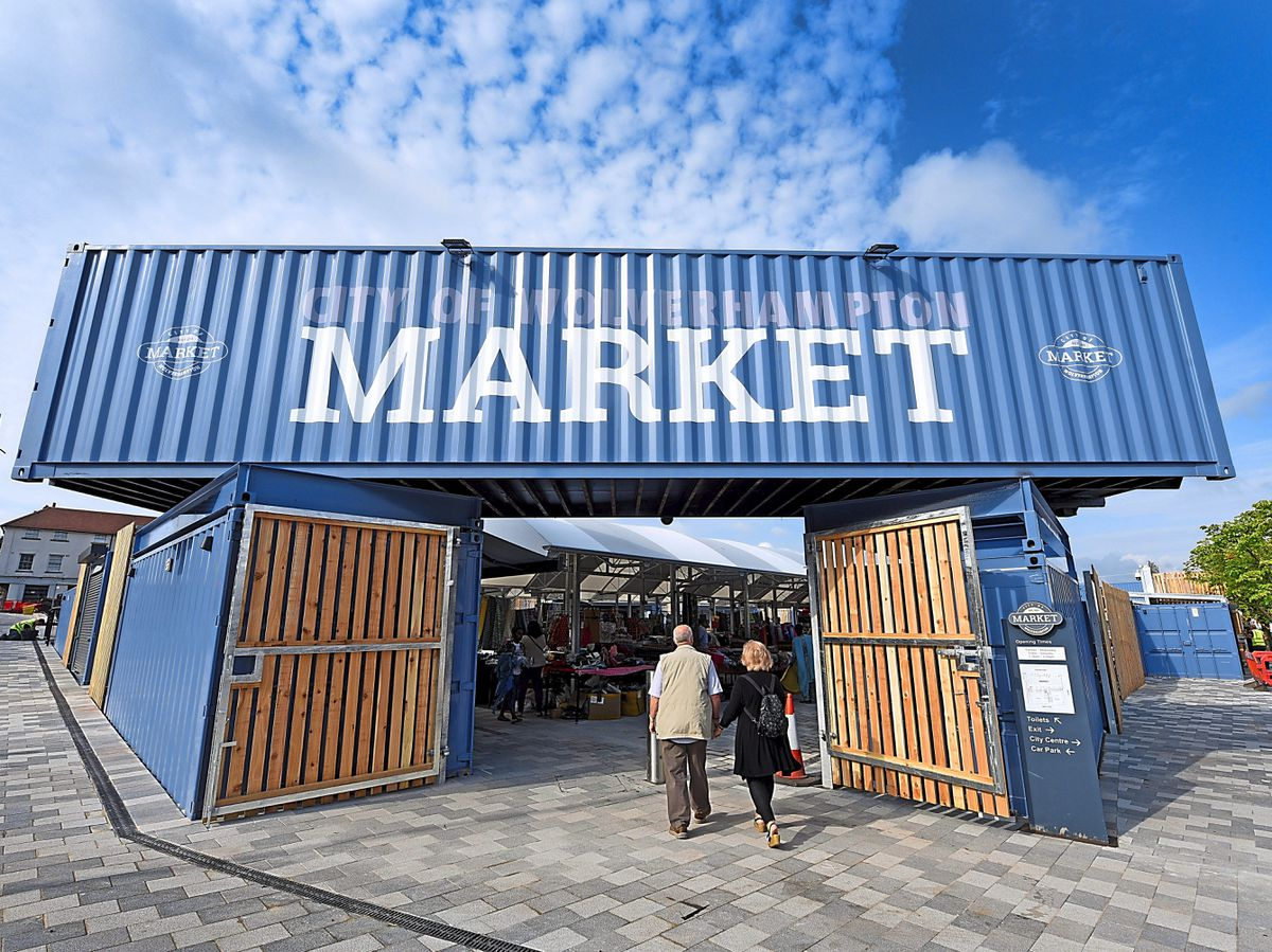 What do you think of the new Wolverhampton Market?