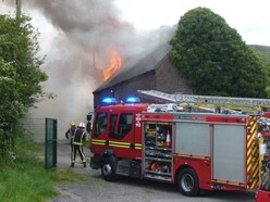 18th century Walsall barn to be saved after fire
