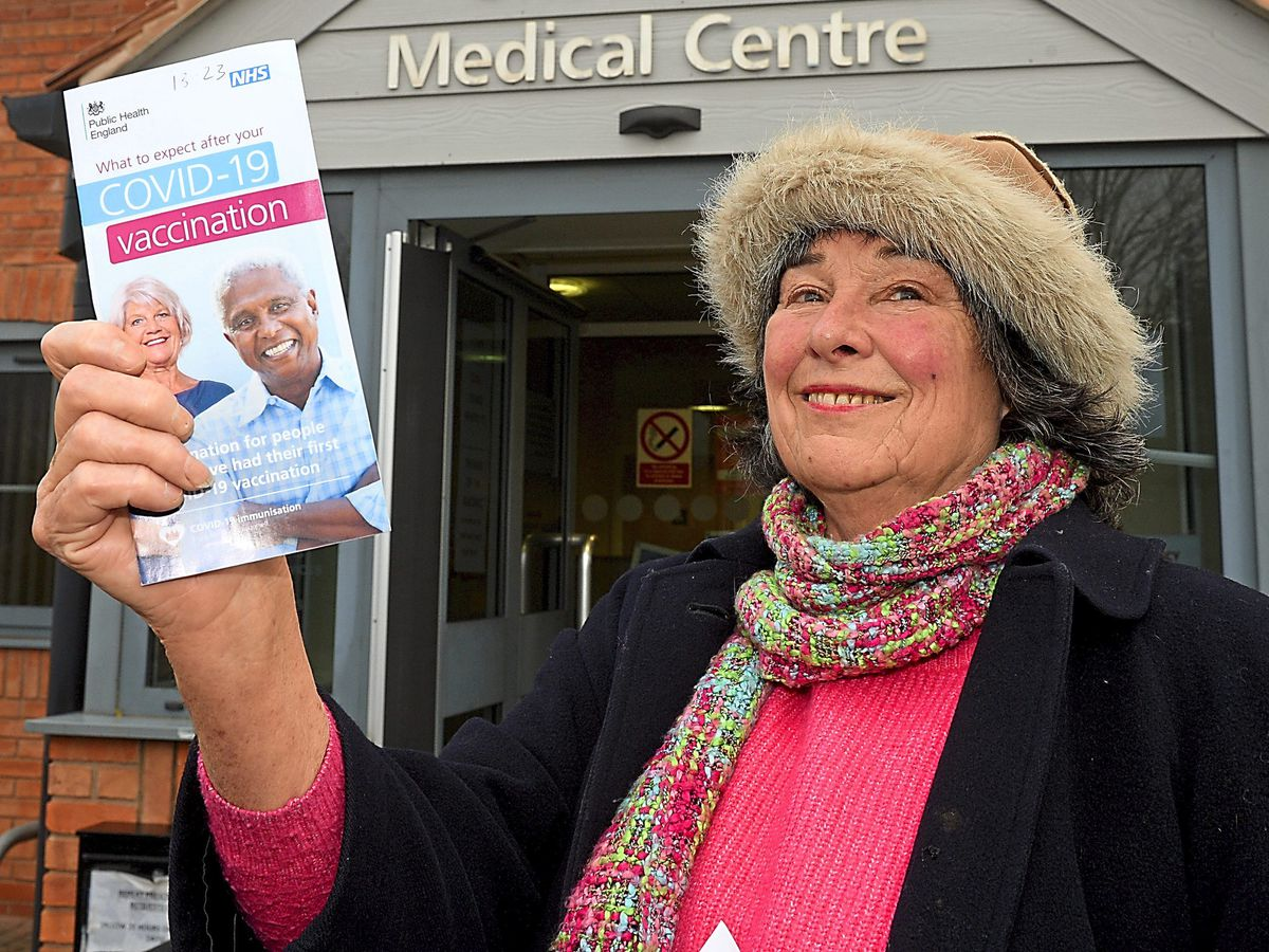 Star reporter Sue Smith, 72, gets the Covid vaccine