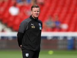 Head of fitness Nick Davies: West Brom attitude spot on