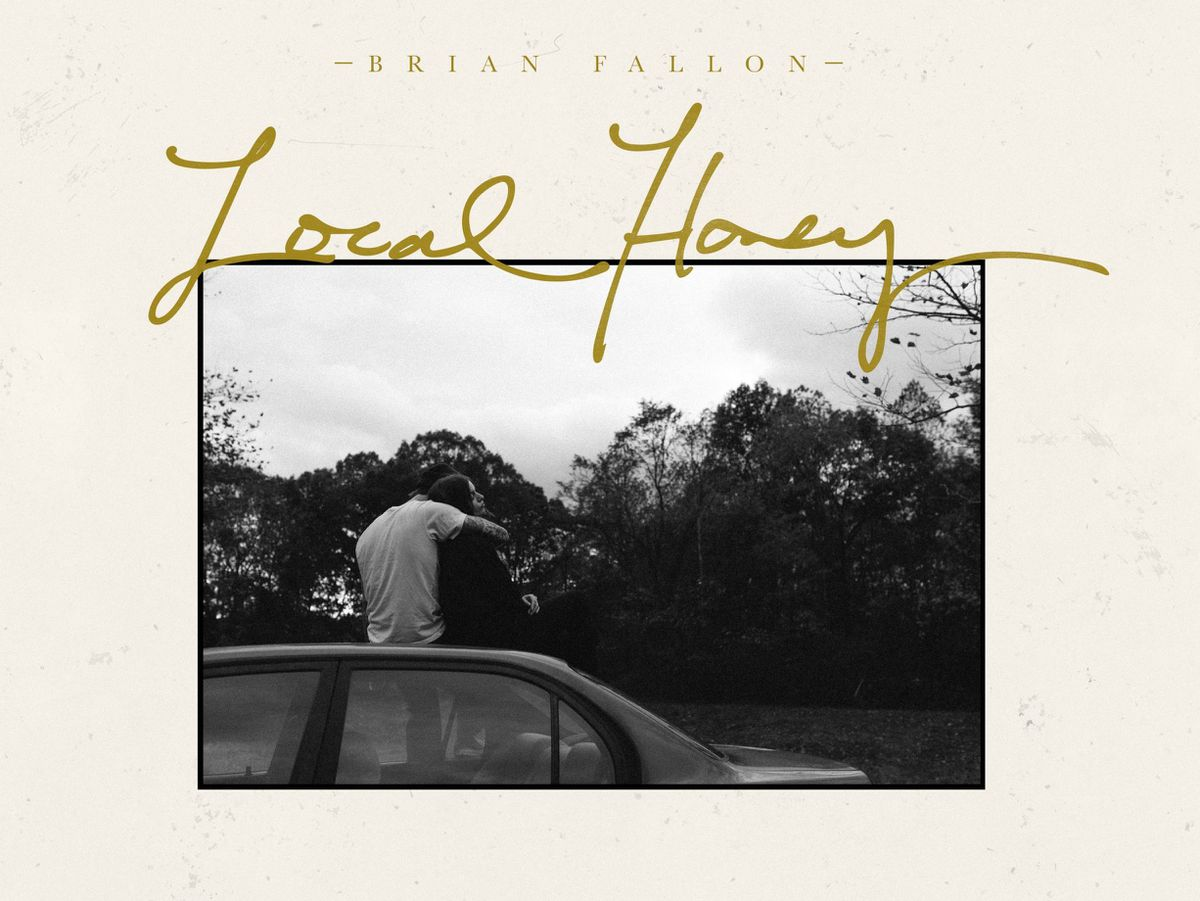 The artwork for Brian Fallon's Local Honey