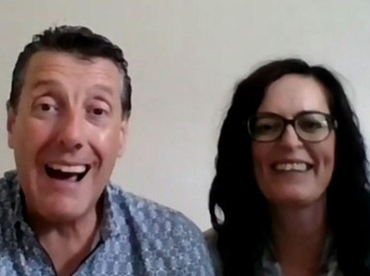 Adrian Goodaker and Jenny Gardner