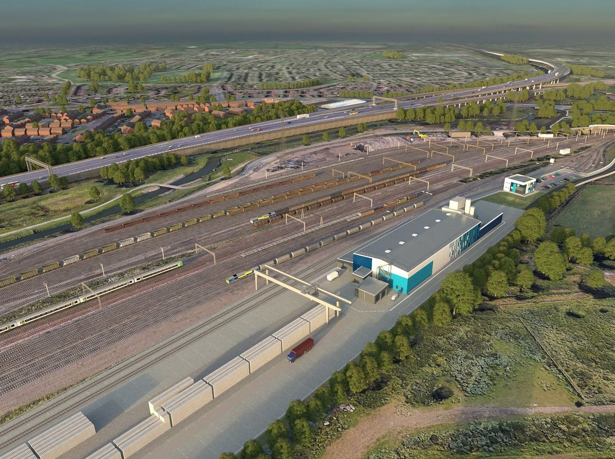 An artist's impression of the proposed sleeper factory