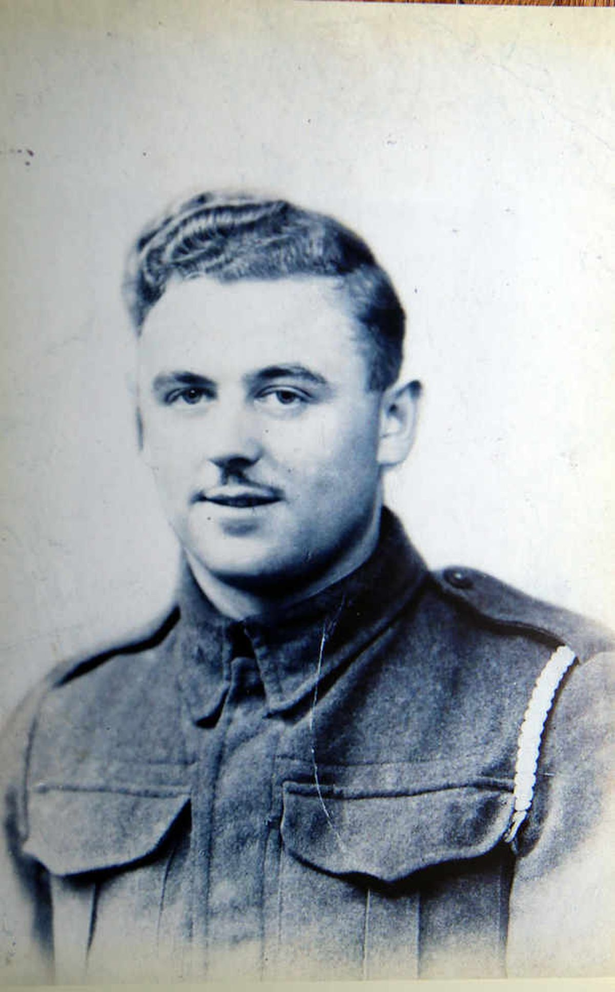 Robert Fletcher in 1939 when he was in the Royal Army Service Core during WWII
