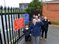 Residents rejoice after university access gate is closed off