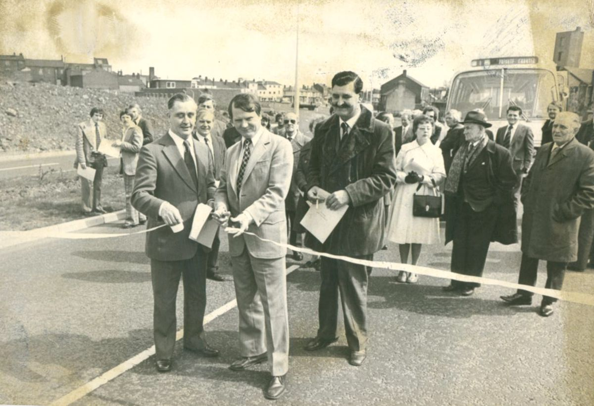 Sir Stan Yapp, pictured here opening the Oldbury Ringway in 1976, was the first leader of West Midlands County Council