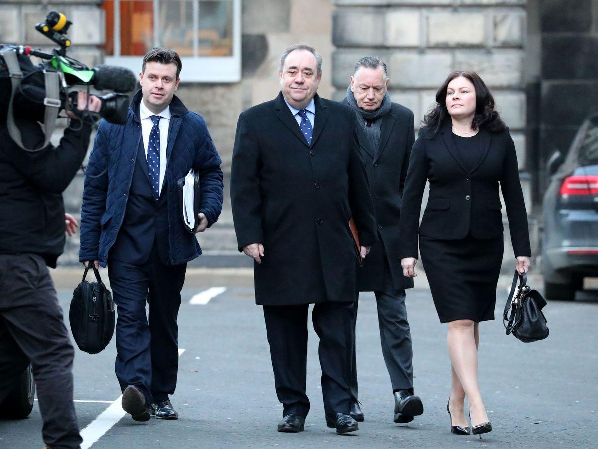 Alex Salmond Legal Action