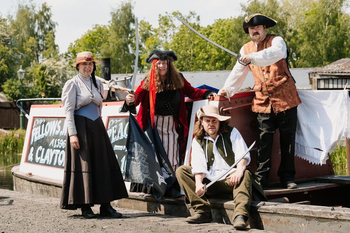 Black Country Living Museum May Half Term Activities - Loff out Loud! The pirates take over!