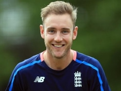 Christmas comes early for Stuart Broad
