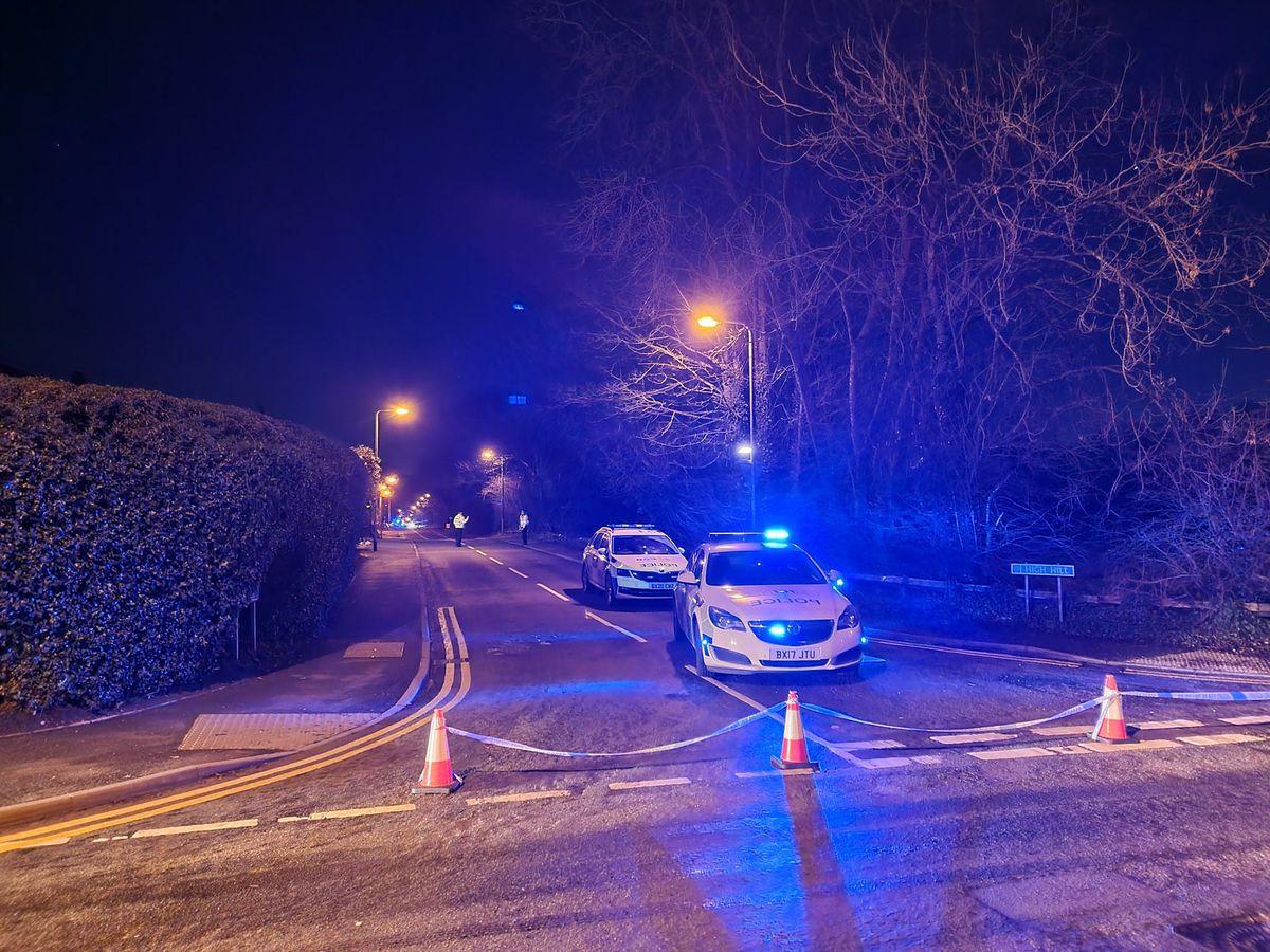Police have closed High Hill, Essington (Image: Essington Live)