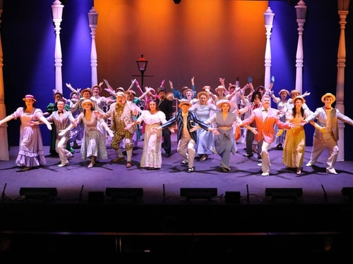 Half a Sixpence, Willenhall Musical Theatre Company, Mill Theatre, Sedgley - review and pictures
