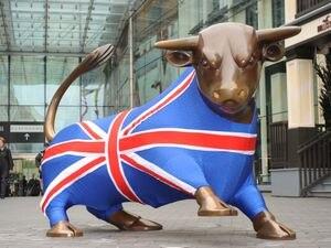 The iconic bull outside the Birmingham Bullring shopping centre