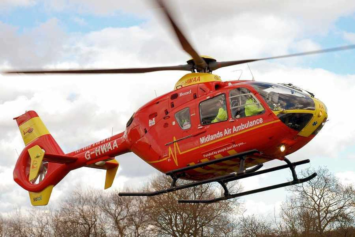 Pedestrian, 75, in critical condition after Walsall smash