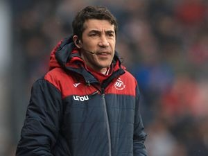 File photo dated 10-03-2018 of Bruno Lage.  Issue date: Tuesday May 25, 2021. PA Photo. Wolves have held talks with Bruno Lage as they search for Nuno Espirito Santo s replacement. See PA story SOCCER Wolves.  Photo credit should read Mike Egerton/PA Wire.