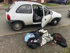 Mother and son arrested as 15-year-old driver stopped by police