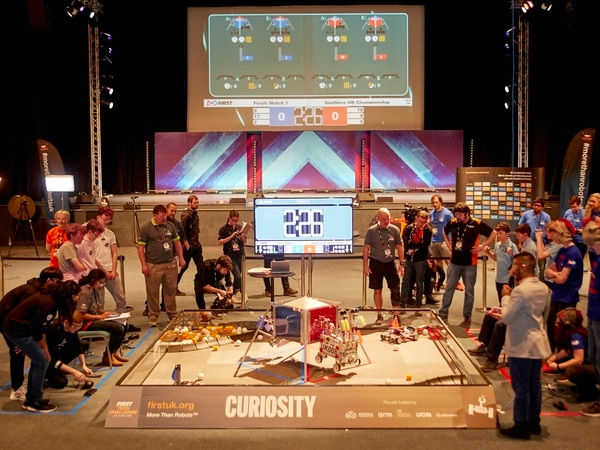 Robots at centre of RAF Museum Cosford tournament
