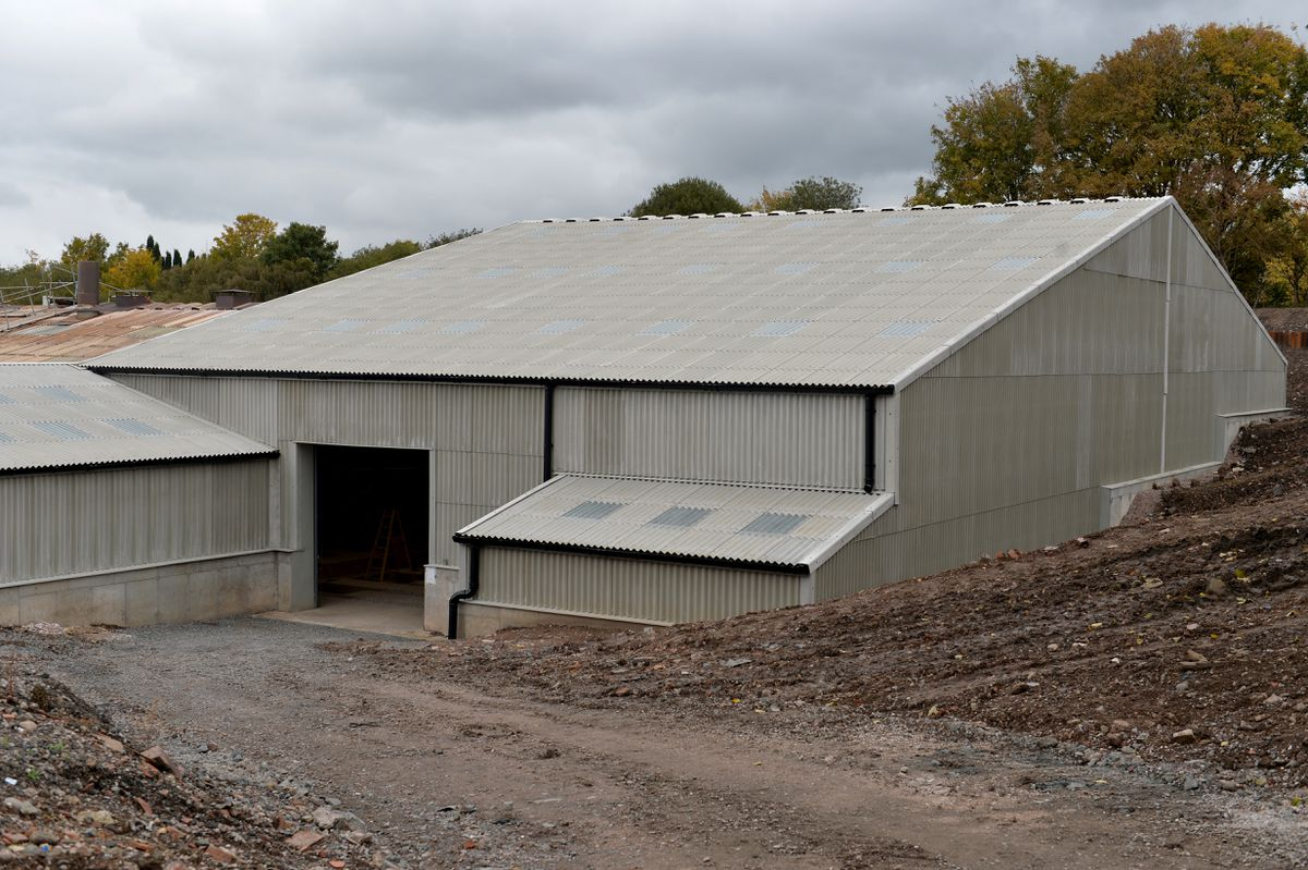 The new extension at Hinton Perry & Davenhill Ltd, Dreadnought Rd, Brierley Hill