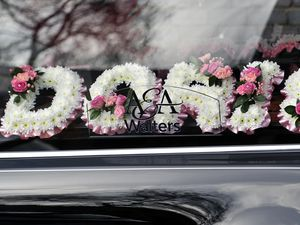 The funeral of Doris Hobday took place on Monday
