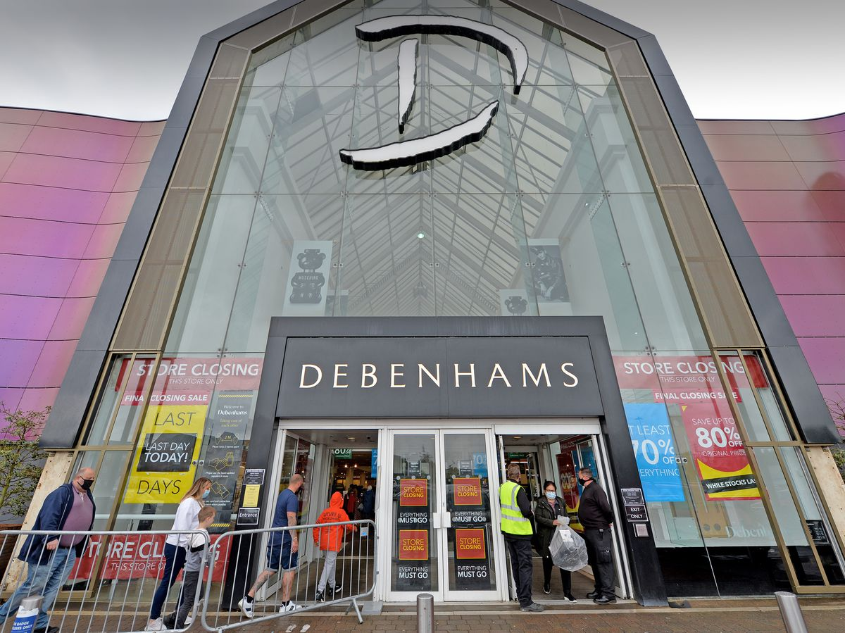 Sadness for staff and shoppers as Merry Hill Debenhams shuts down for good
