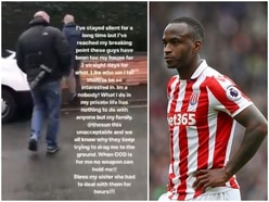 Saido Berahino hits out at paparazzi outside his home in social media video