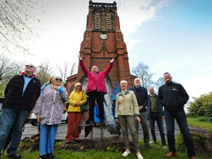 A clock has been added to the tower of St Peter's Church, in Cradley – 146 years after it was built.