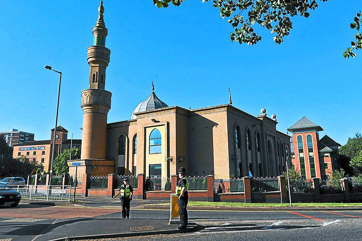 Wolverhampton Central Mosque bomb blast shock as two held