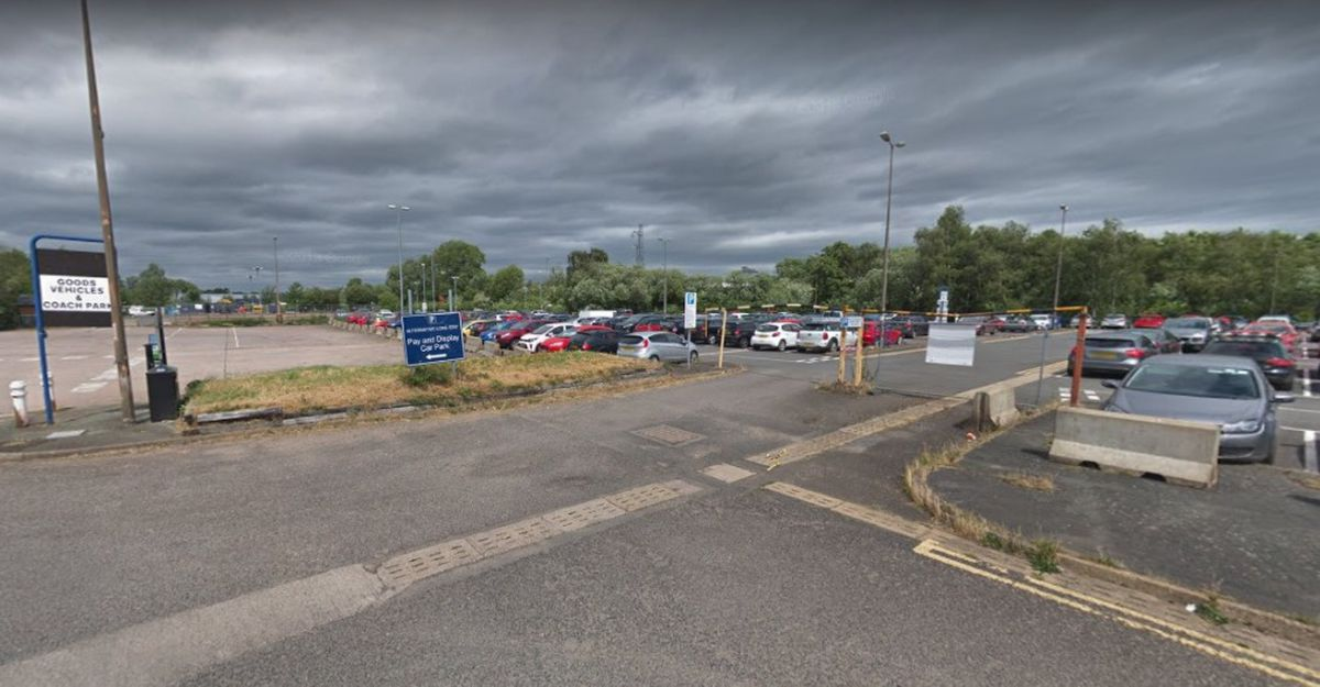 The long stay Doxey Road car park In Stafford. Photo: Google Maps