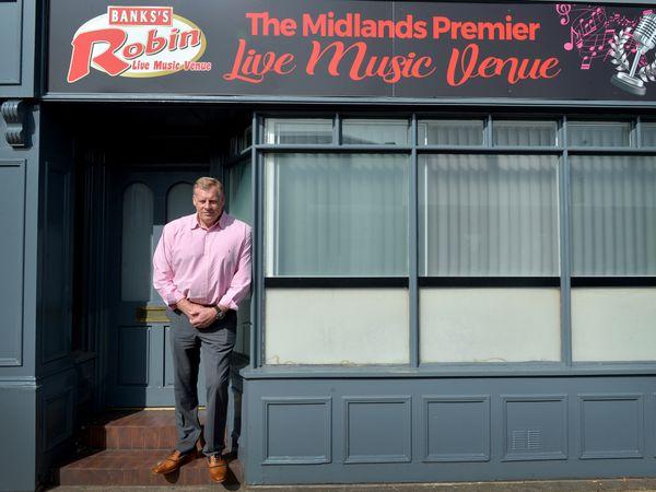Fraser Tranter, owner of Robin 2 in Bilston