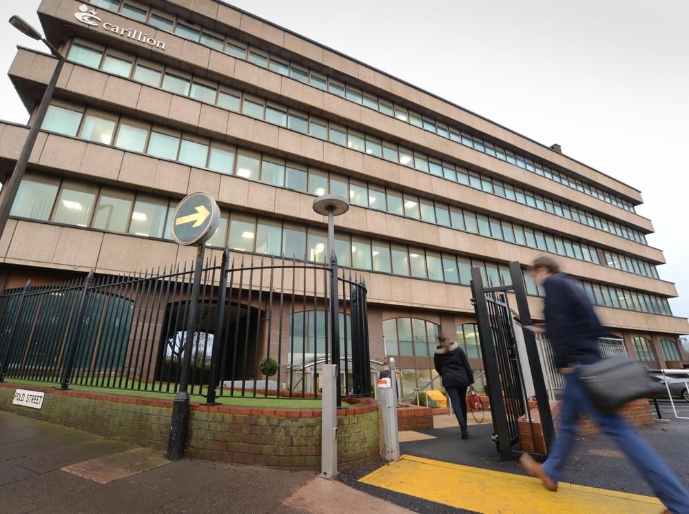 Carillion: Wolverhampton-based construction giant enters
