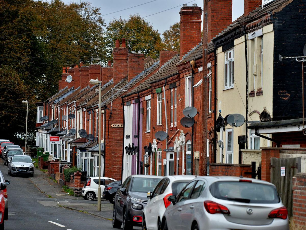 The shooting happened in Crescent Road, Netherton