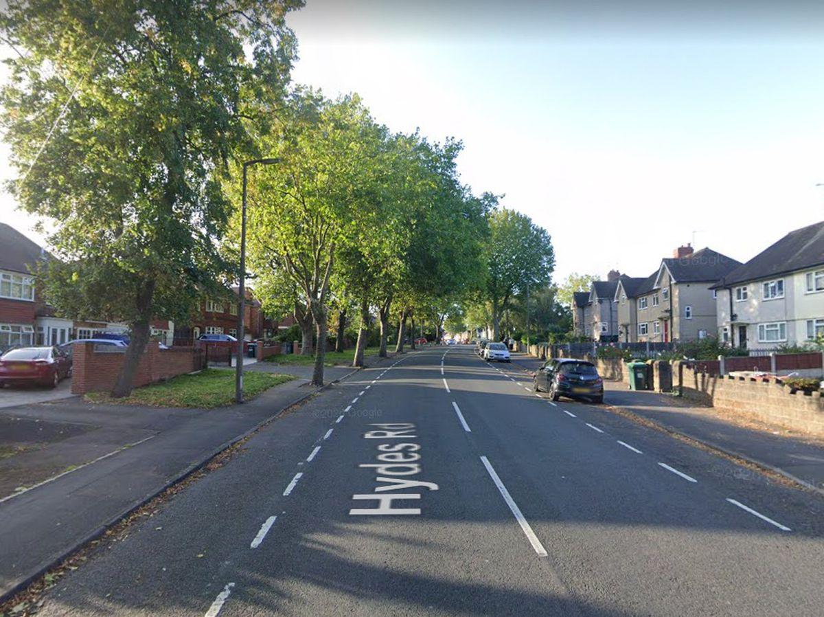 Hydes Road, in Wednesbury. Photo: Google Maps