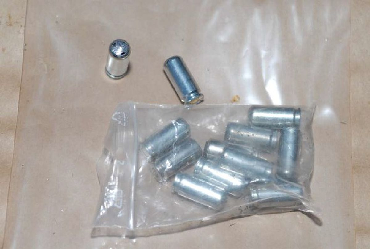 Ammunition was also recovered
