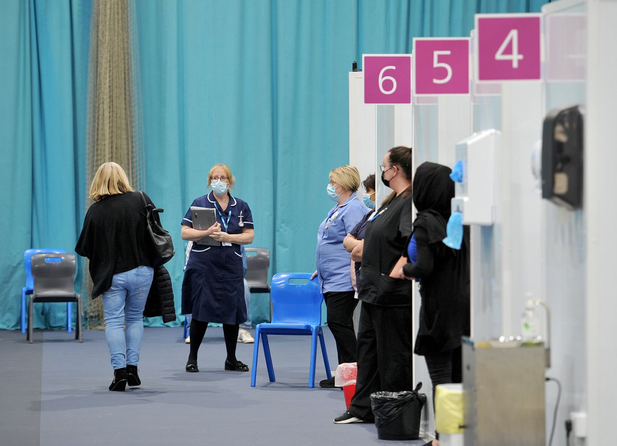 Tipton Sports Academy becomes a covid vaccination centre