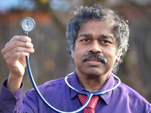 Dr Manickam Murugan is hanging up his stethoscope at Hednesford Medical Practice after almost three decades as a GP