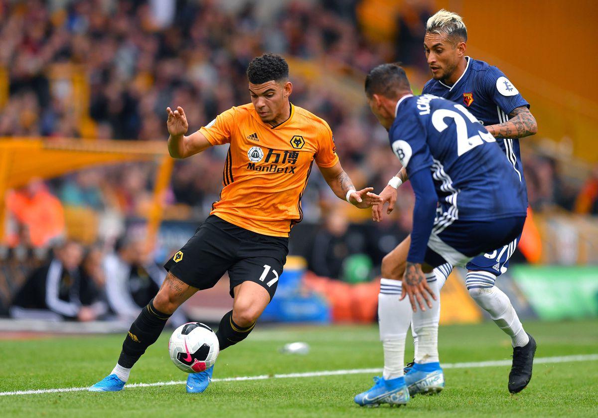 Wolverhampton Wanderers' Morgan Gibbs-White
