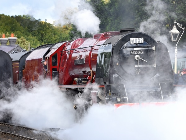 Duchess a shining star at Severn Valley Railway Autumn Steam Gala - with pictures
