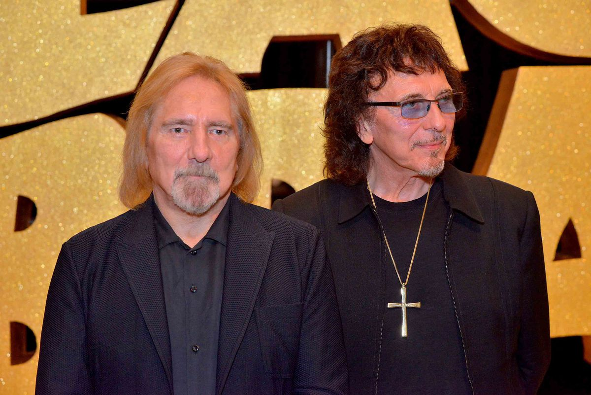Geezer and Tony opening the event