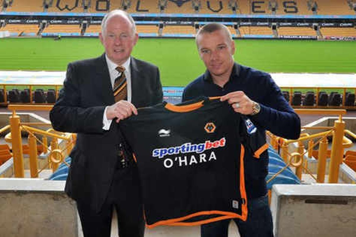 Jamie O'Hara joins Wolves for £5m