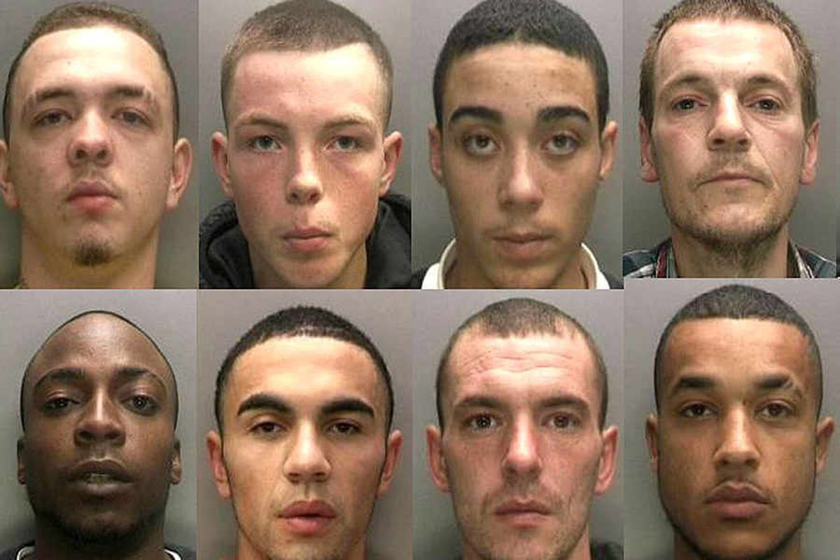 No hiding place for Wolverhampton drug dealers as 23 jailed in crackdown