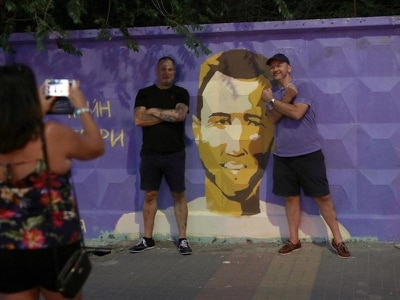 Fans descend on Volgograd ahead of England's World Cup opener