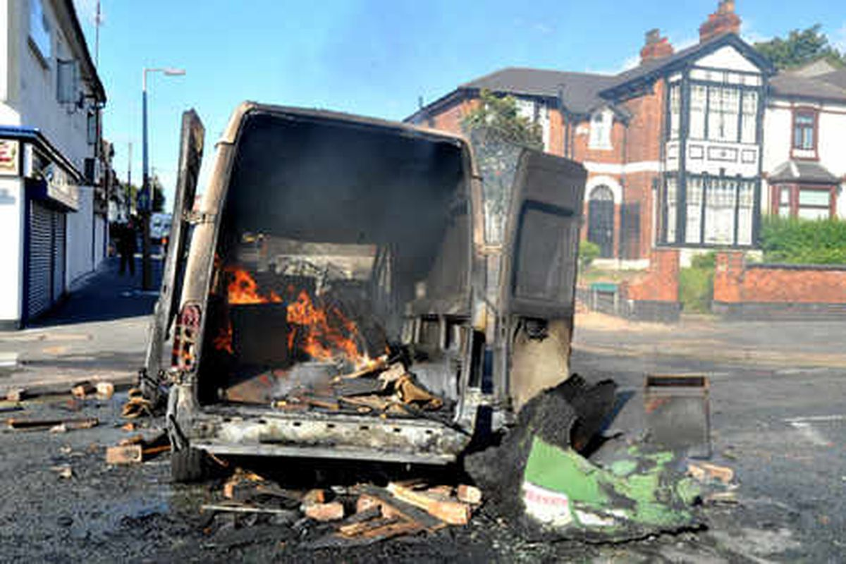 Masked youths rampage through West Bromwich