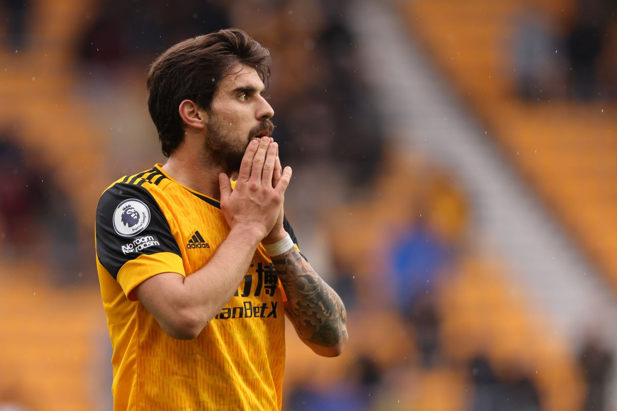 Ruben Neves of Wolverhampton Wanderers reacts. (AMA)
