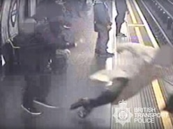 Tube pusher victim feels guilty for not stopping attacker from striking again