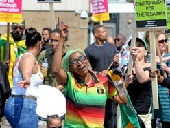 Windrush grandmother Paulette Wilson joins march through city for justice - WATCH