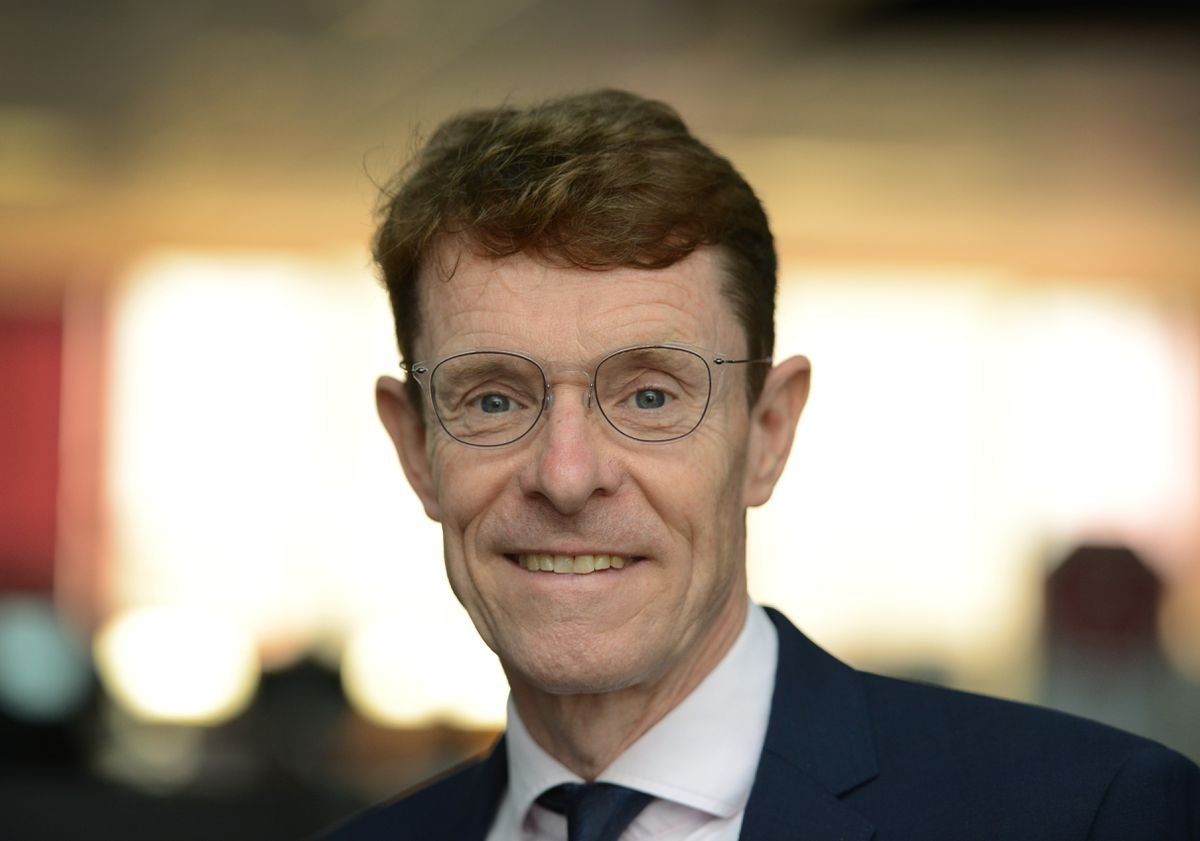 West Midlands Mayor Andy Street